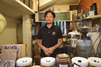 山田哲史[COFFEE potohoto]|INTERVIEW